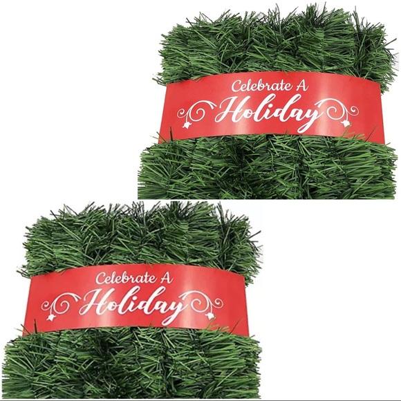 50 Foot Garland Christmas Decor Non-Lit Greenery